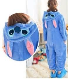 stitch footie pajamas