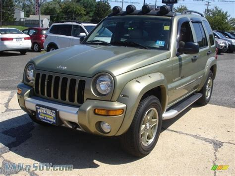 2003 Jeep Liberty Renegade 2003 Jeep Liberty Renegade 4x4 In Cactus Green Pearl