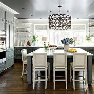 Square Island Kitchen Southern Living Idea House Palmetto Bluff