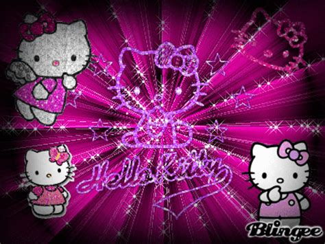 wallpaper hello kitty yg bisa bergerak hello kitty picture 118238487 blingee com