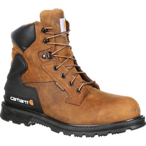 carhartt steel toe work boots steel toe waterproof work shoes by carhartt cmw6220