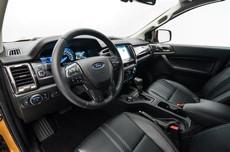 ford ranger interior 2019 ford ranger look welcome home motor trend canada