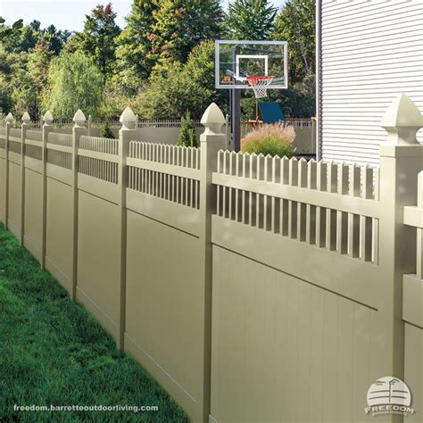 25 best images about beautiful functional fences on traditional vinyls and front