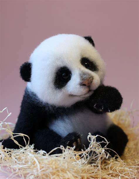 mas de 1000 imagenes sobre pandas en pinterest flor chicas y osos adorable little animals that i make from wool bored panda