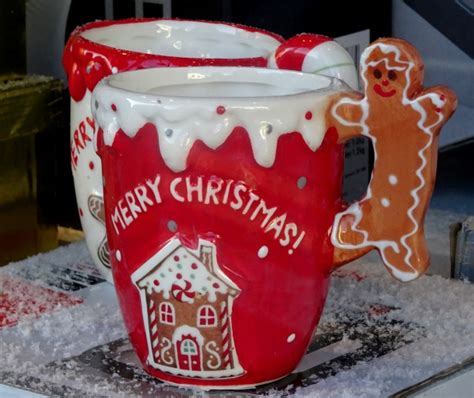 merry christmas mugs  stock photo public domain pictures