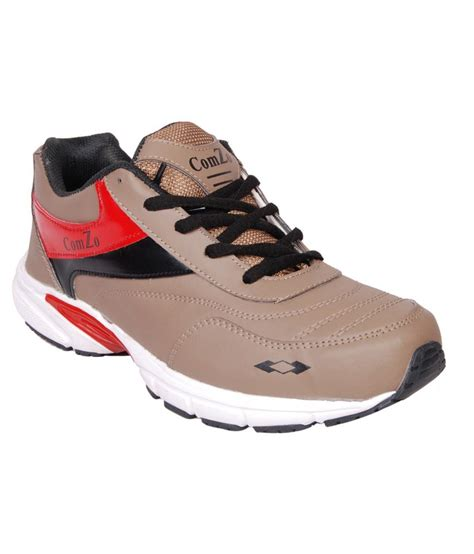 comzo brown sport shoes price in india buy comzo brown