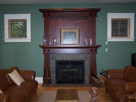 Craftsman Fireplace Mantel by Arts And Crafts Mantels Craftsman Fireplace Mantel