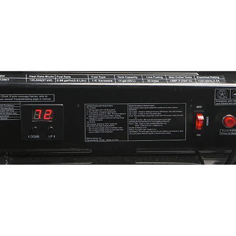 Best Kerosene Heater For Garage by Reconditioned Mr Heater 174 125k Btu Forced Air Kerosene