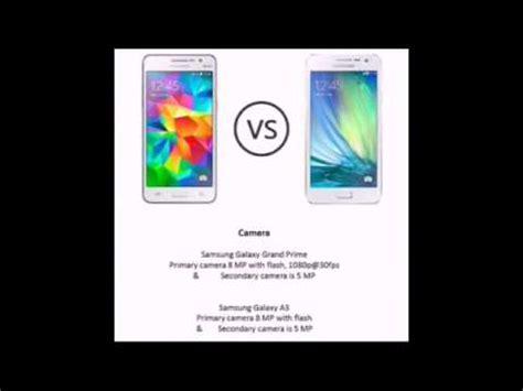 Samsung A3 Vs Prime samsung galaxy grand prime vs samsung galaxy a3