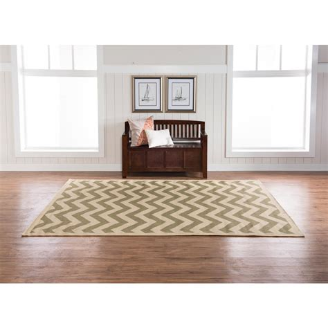 home decor innovations linon home decor innovations reversible green and tan