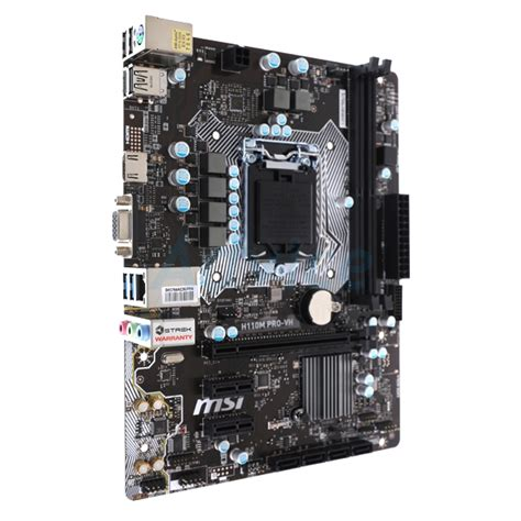 Msi H110m Pro Vh Lga 1151 buy msi h110m pro vhl socket lga 1151 motherboard in india at lowest prices price in