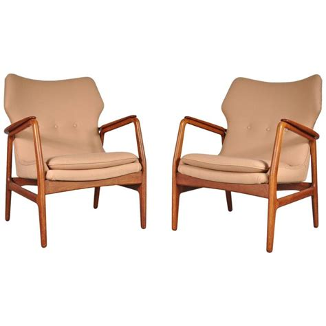 Easy Chairs For Sale Easy Chairs By Aksel Bender Madsen For Bovenk 1950s