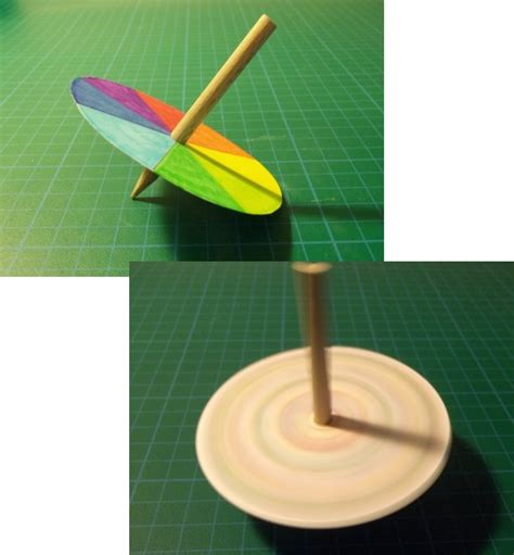 How To Make Spinning Tops Out Of Paper - things to make and do spinning tops