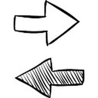 imagenes de flechas antiguas flechas opuestas fotos y vectores gratis