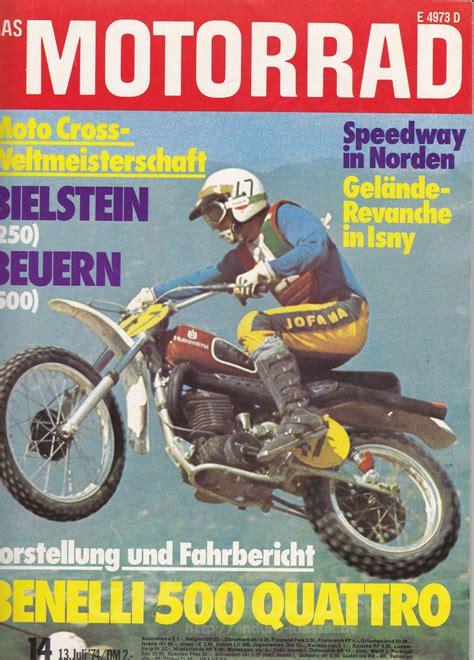Classic Enduro Motorräder by Motorrad Titelbild 1974 Enduro Klassik De