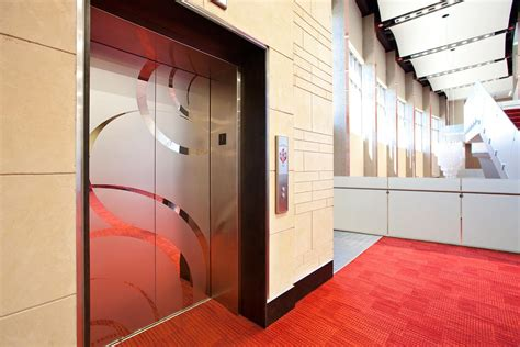 theme hotel elevator problem stainless steel elevator doors architectural forms