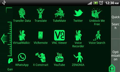 fallout themes for android pipboy 3000 fallout 3 theme android appcrawlr