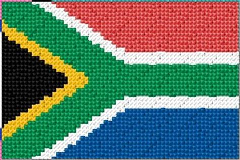 patterns south africa south africa flag s cross stitch patterns