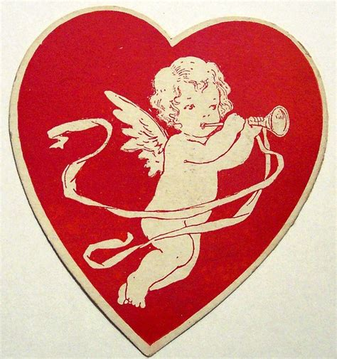 cupid valentines day cupid and vintage cards