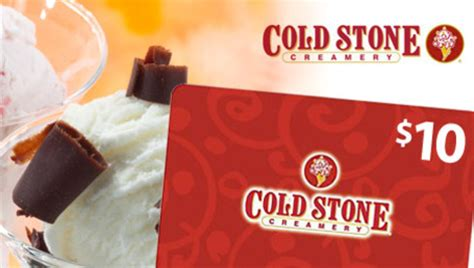 Coldstone Gift Cards - saveology 10 coldstone creamery gift card just 5 new customers only