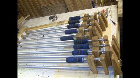 shopmade barpipe clamp youtube