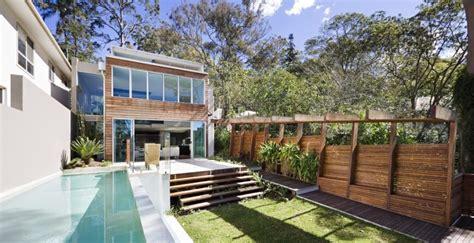 contemporary open concept home  plenty  natural light