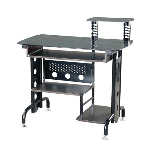 Computer Desk Metal by Modern Black Metal Office Computer Desk Buy Computer
