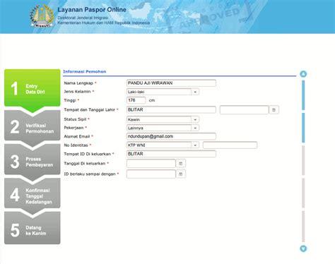 persyaratan membuat paspor baru cara membuat paspor online baru yang mudah dan gak ribet