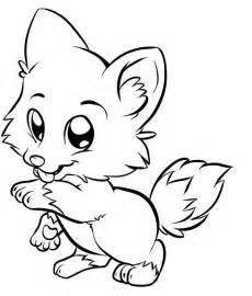 baby fox coloring pages fox drawing child coloring