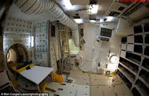 Interior Space Shuttle photos taken inside nasa s discovery endeavour and atlantis show what at the controls of a