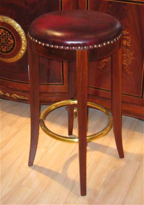 Burgundy Leather Bar Stools by Cherry Burgundy Leather Bar Stools 2 Ebay