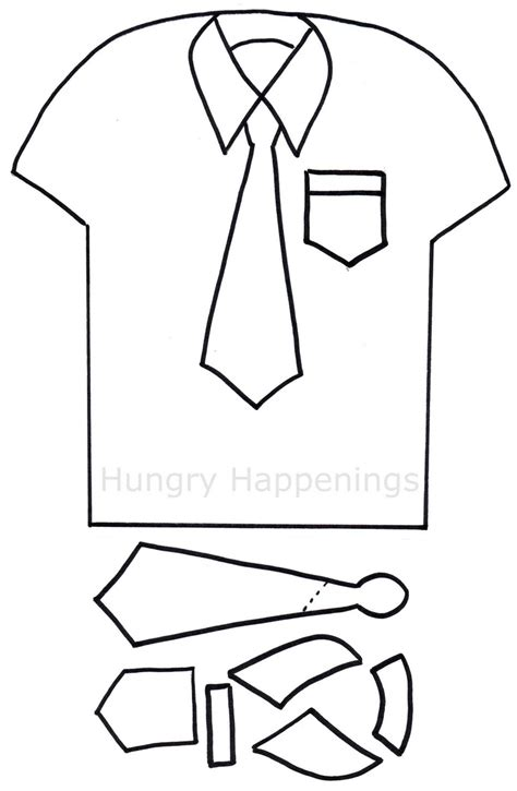 S Day Card Templates Shirt And Tie by 10 Best Images About Tie Templates On Free