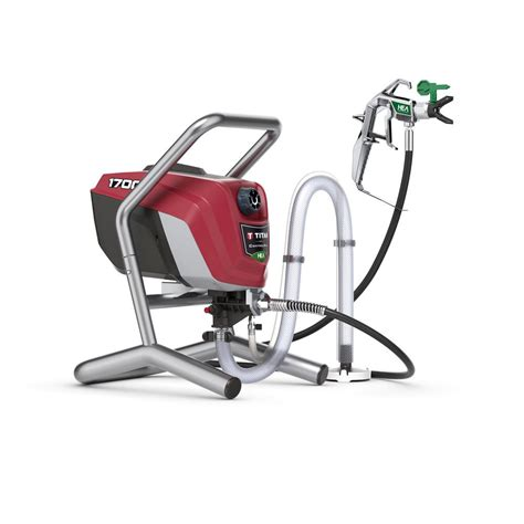 home depot titan airless paint sprayer titan controlmax 1700 high efficiency airless sprayer