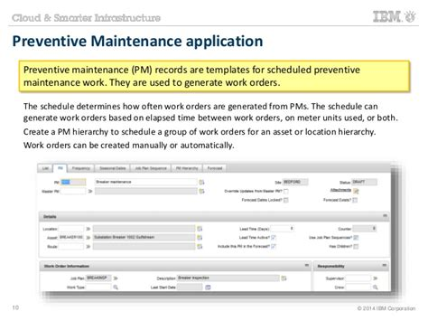 Maximo Training Work Management Scheduled Server Maintenance Email Template