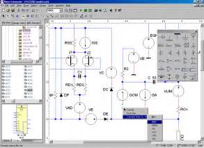 electrical schematic software