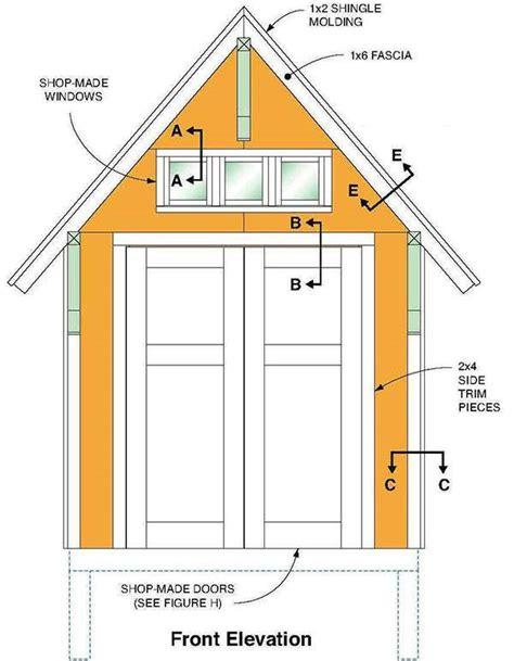 gable shed plans blueprints  making  large