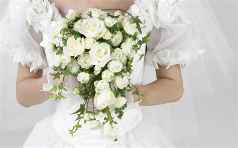 Wedding Pictures With Flowers by Wedding Flowers Wallpaper 1920x1200 66759
