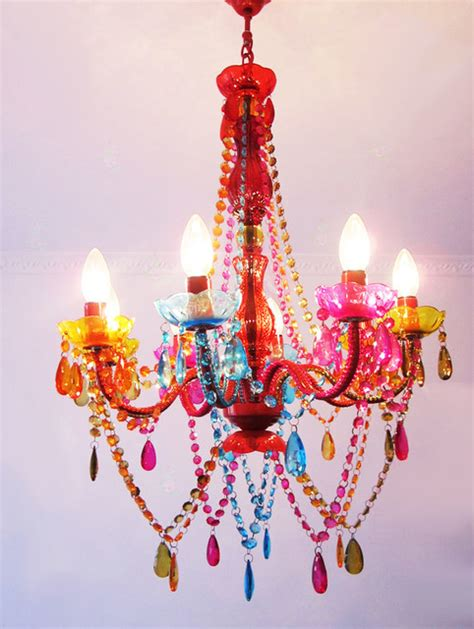 colorful chandeliers modern colorful chandelier contemporary