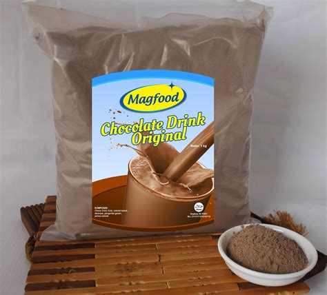 Magfood Powder Berat 1 Kg magfood powder chocolate drink original 1 kg magfood