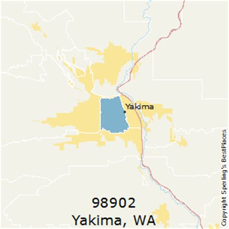 zip code map yakima county best places to live in yakima zip 98902 washington