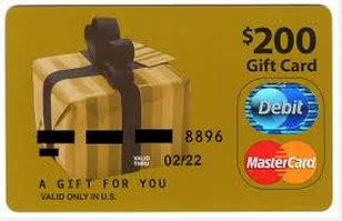 300 Mastercard Gift Card - 20 off a 300 mastercard gift card purchase deals we like