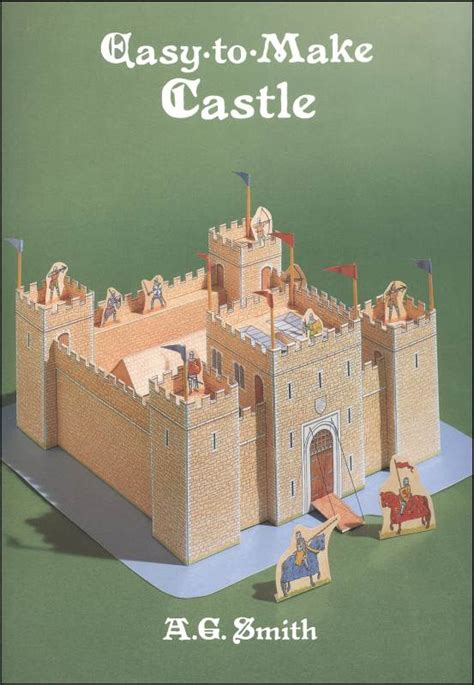 Make A Paper Castle - easy to make paper models product browse rainbow