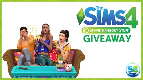 Sims 4 Giveaway - giveaway win 3 copies of the sims 4 movie hangout stuff sims community