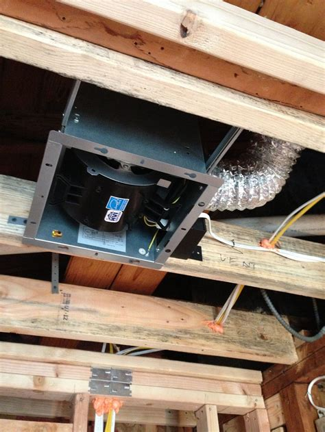 installing a bathroom exhaust fan without attic access how to install a new bathroom fan without attic access