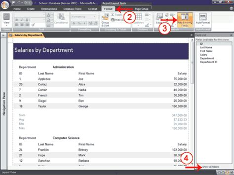layout view is unavailable for this report m a audits academi lesson 7 creating reports access