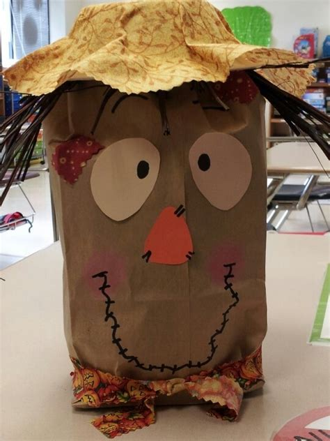 Paper Bag Scarecrow Craft - 27 best images about scarecrow bags on paper