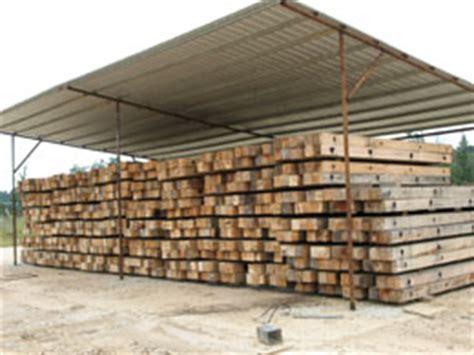Hardwood Crane Mats by Use Of Hardwood Crane Mats On Pipeline Crossings