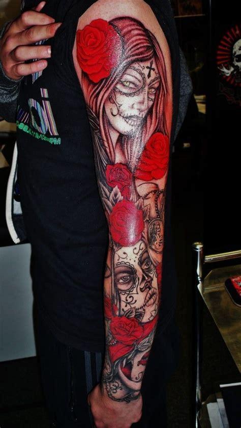 tatuajes de santa muerte conoce su simbologia  significado