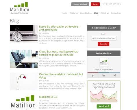 Great Blogs On Business by 8 Great Business Intelligence Blogs You Need To Read
