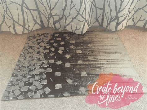 How To Make A Floor Cloth by Diy Painted Floor Cloths Create Beyond The Lines